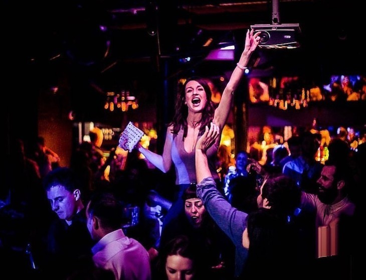 Great London bars for hen dos: Piano Works