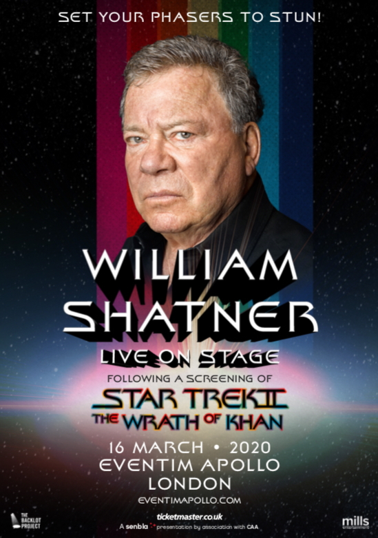 William Shatner was overjoyed to return to London.