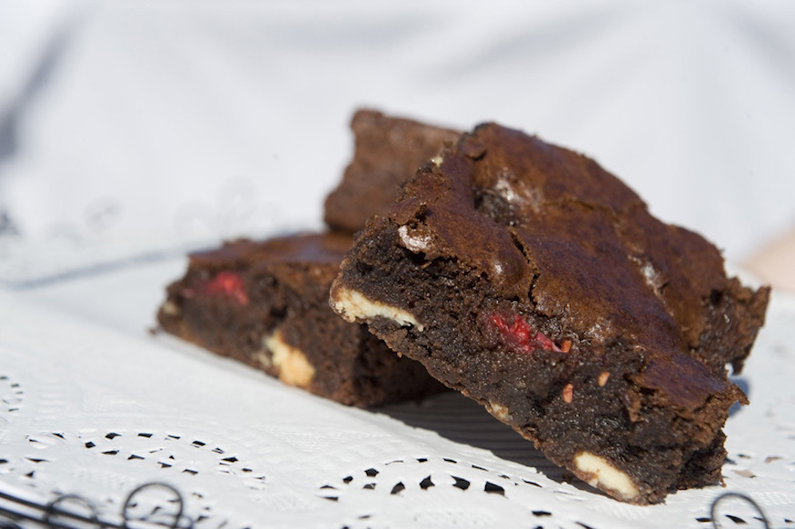 Gluten-free brownies and cakes are on offer at The Free From Bakehouse in London's Borough Market