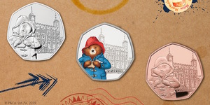 Paddington Bear Visits Tower Of London And St Paul's Cathedral On New 50p Coin