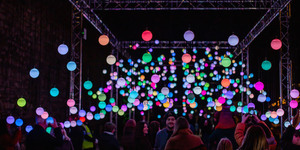 500 Colourful Light Orbs Will Light Up London This Winter