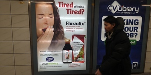 Does The Yawning Floradix Lady Haunt Your Commute?