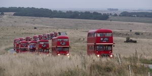 Ride These Vintage London Buses Over Salisbury Plain This August