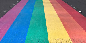 UK's First Permanent Rainbow Crossing Installed In South London