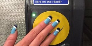 These Oyster Card Fake Nails Are Totally Real... See Them For Yourself In The Design Museum
