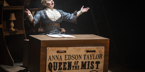Roll Out The Barrel: Queen Of The Mist At Charing Cross Theatre