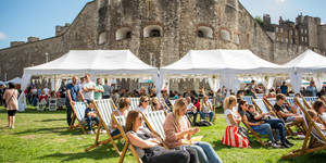 There's A Food Festival Happening In The Tower Of London's Moat