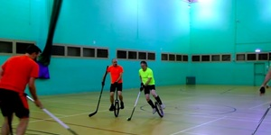 Fancy A Shot At Something New? Unicycle Hockey Should Do The Trick