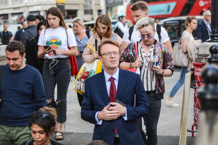 Oxford Street pedestrians