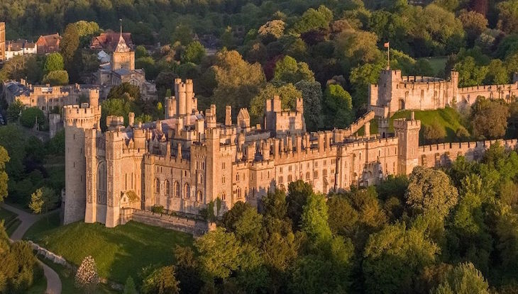 Arundel Castle in West Sussex, on a day trip from London