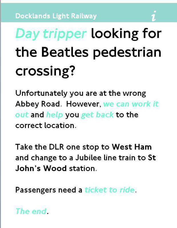 Abbey Road DLR