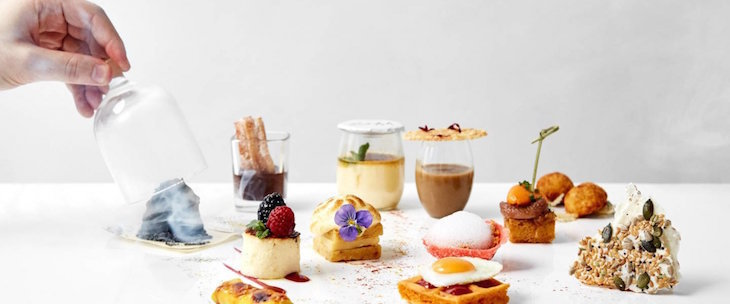 Basque-inspired Spanish afternoon tea at Como The Halkin