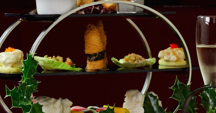 Chinese dim sum afternoon tea at Le Chinois at Millennium Hotel Knightsbridge