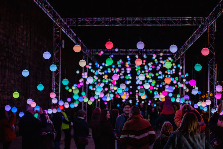 500 Colourful Light Orbs Will Up London This Winter