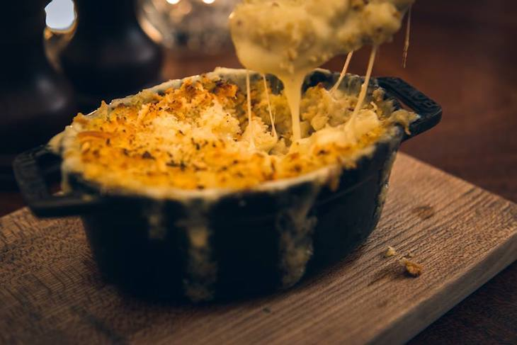 Hawksmoor is home to one of the best mac and cheese dishes in London