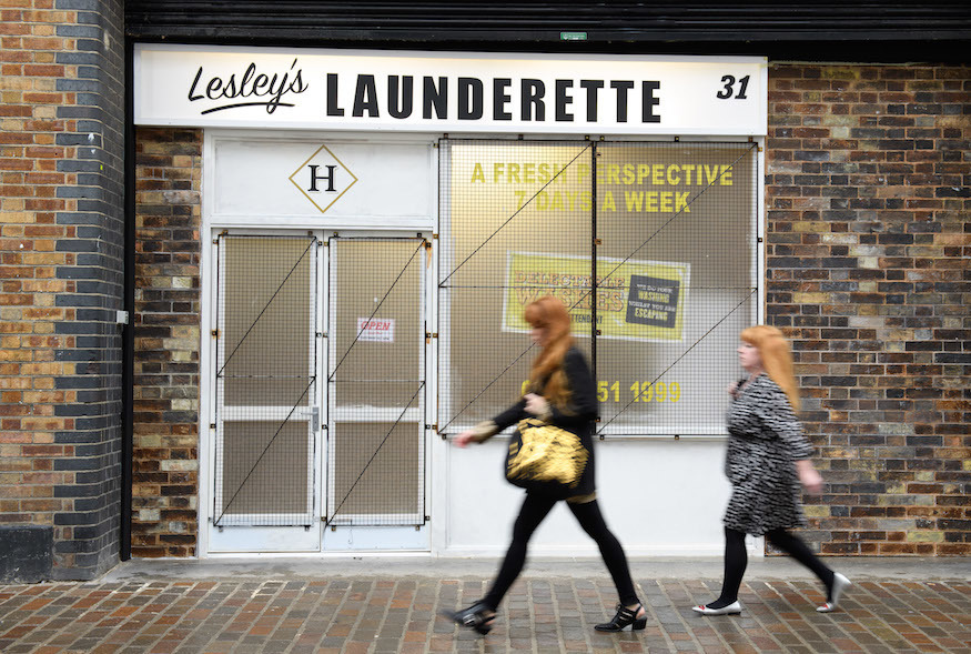 This Unassuming Shoreditch 'Launderette' Is Giving Away Free Gin