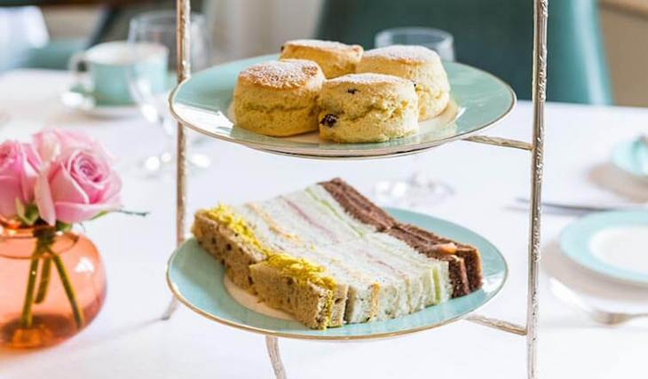 Afternoon tea at Fortnum & Mason, London