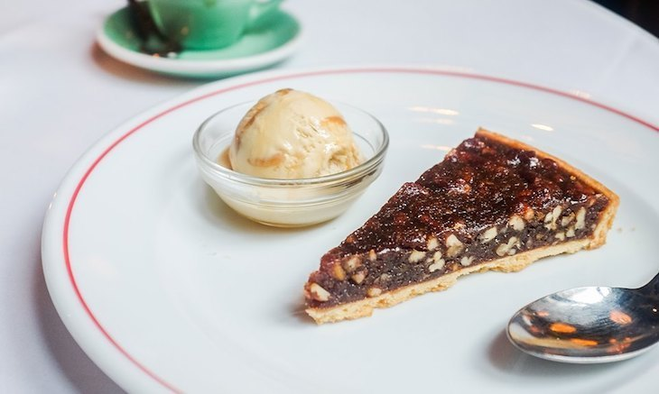 Eat pecan pie at Jackson + Rye, one of the best restaurants for American food in London