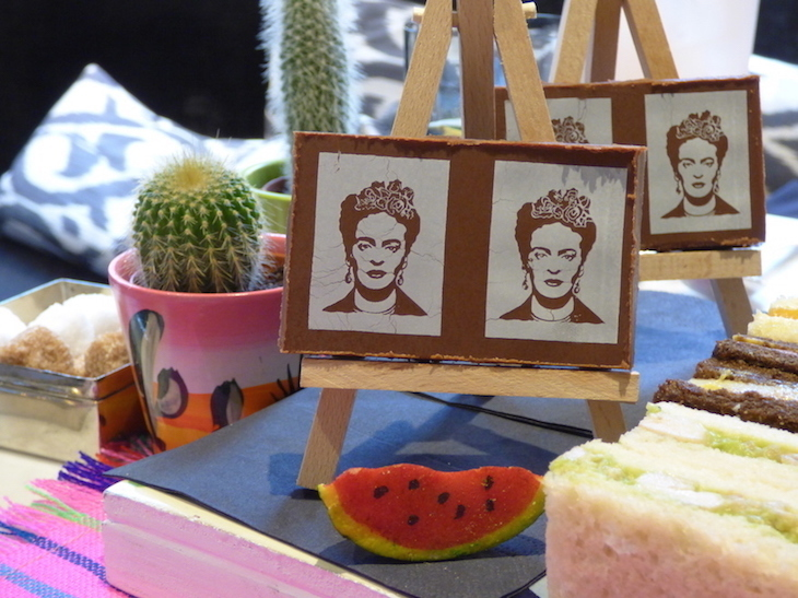 Frida Kahlo afternoon tea at The Franklin