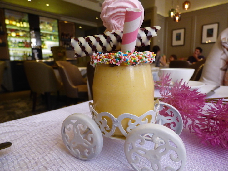 Mary Poppins/ Candy Stripe Carousel afternoon tea at Kona, Buckingham Gate