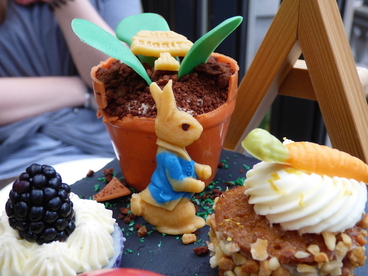 Peter Rabbit/Beatrix Potter themed afternoon tea at Le Meridien Piccadilly