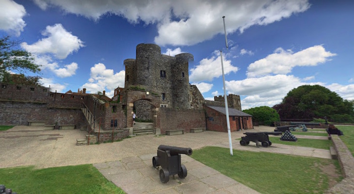 Ypres Tower and Rye Castle Museum in East Sussex, on a day trip from London