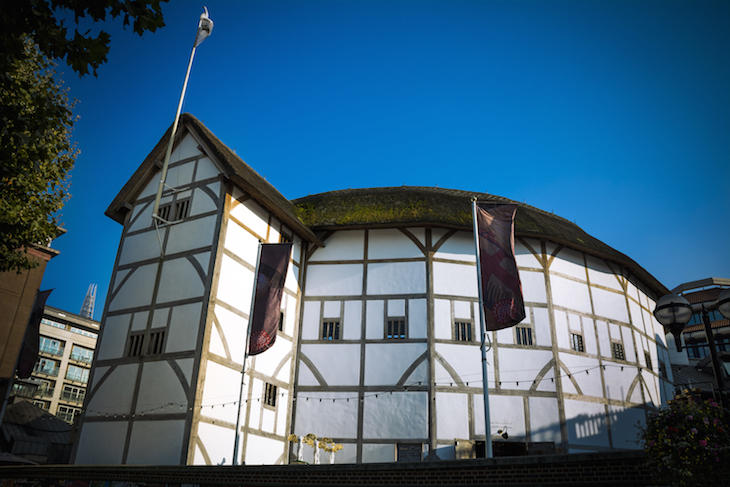 Shakespeare's Globe Theatre on South Bank, London
