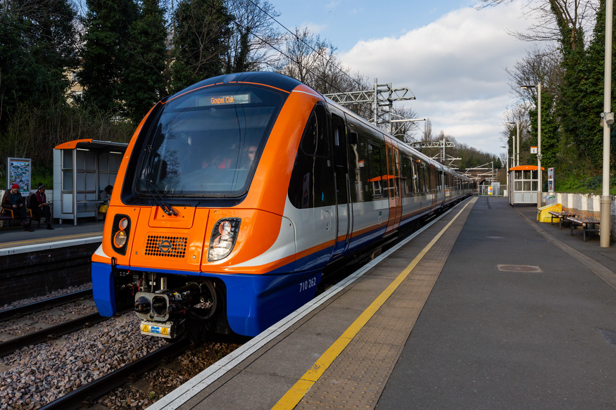 Class 710 on the Gospel Oak to Barking Line