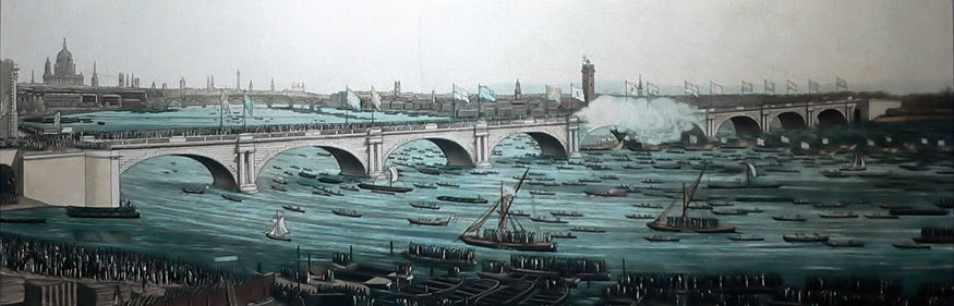 John Rennie's Waterloo Bridge.