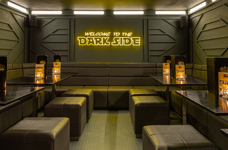 The Force Is Strong With This One: Star Wars Themed Cocktail Bar Comes To Clapham