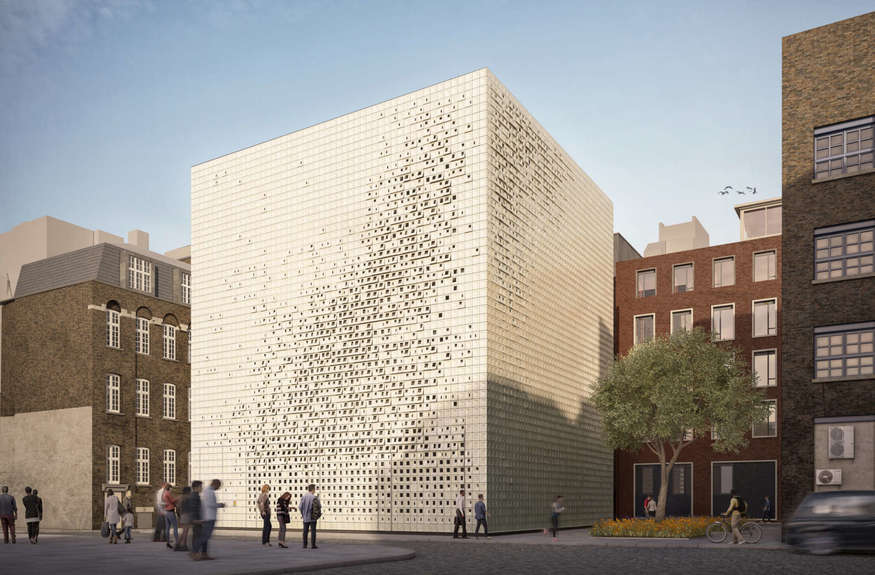 'Sugar Cube' Building To Ventilate The Northern Line Approved For Euston