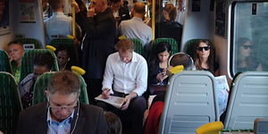 """I Took A Trip On The UK's Most Crowded Commuter Train"""