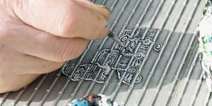 Seen Ben Wilson's Chewing Gum Paintings On Millennium Bridge?