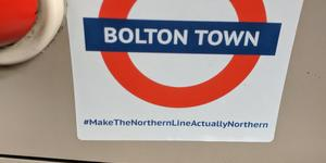 Mystery 'Make The Northern Line Actually Northern' Stickers Appear On Tube Trains