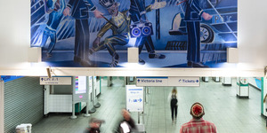 Stop For A Moment To Admire This Amazing New Mural At Brixton Underground Station