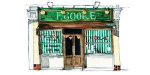 This Beautiful Book Of Illustrations Celebrates Classic London Shopfronts