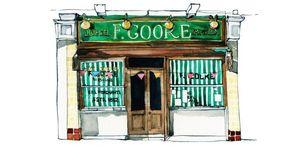 This Beautiful Book Of Illustrations Celebrates Classic London Shopfronts