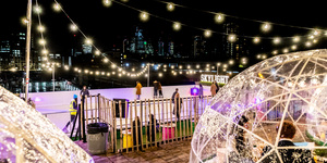 Igloos With A View: These Winter Domes Are Coming Back To East London