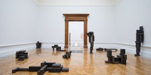 Climb Inside A Giant Antony Gormley At His Blockbuster Royal Academy Exhibition