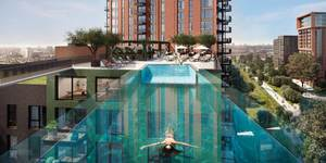 Yes, This Stunning Sky Pool IS Still Happening In London