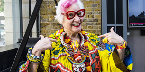 Who Are The People That Walk Around Spitalfields In Ridiculously Colourful Clothes?