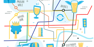 Can You Name All Six Tube Stations Named After Pubs?