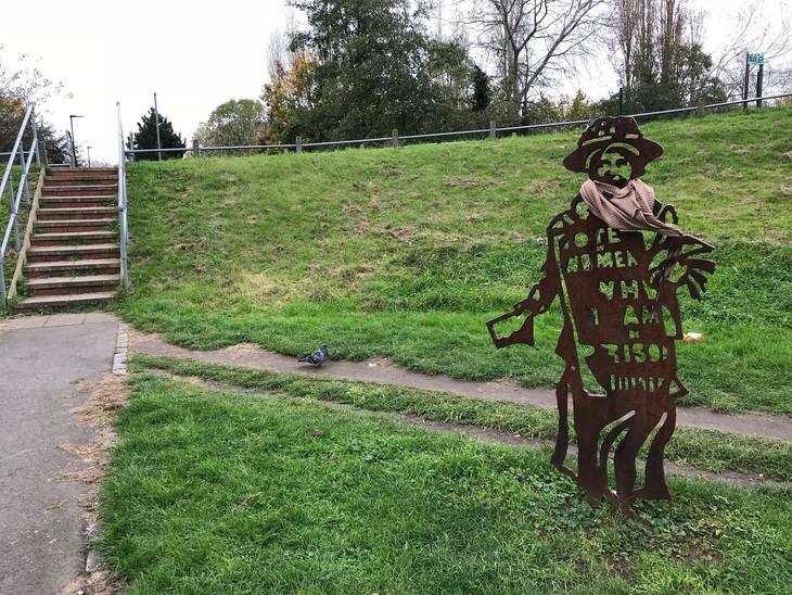 Sylvia Pankhurst statue