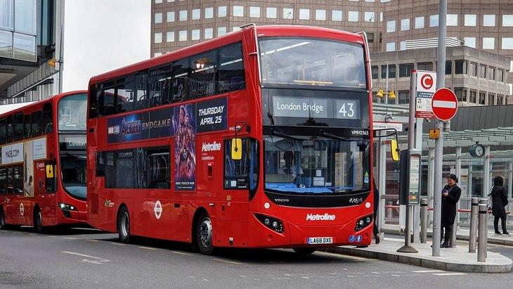 43 Bus going to London Bridge