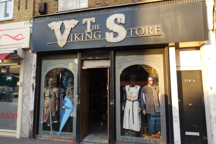 The Viking Store on Walthamstow High Street