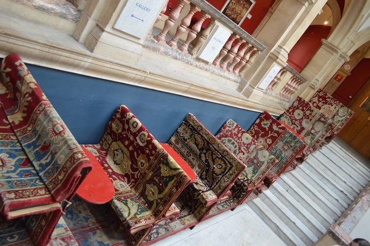 Battersea Arts Centre carpet seats