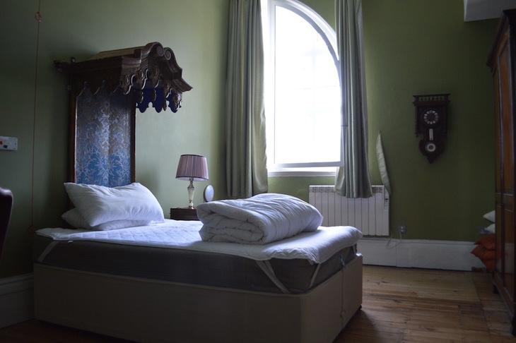 A bedroom at BAC