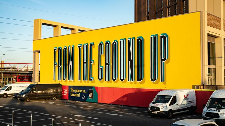 From The Ground Up mural