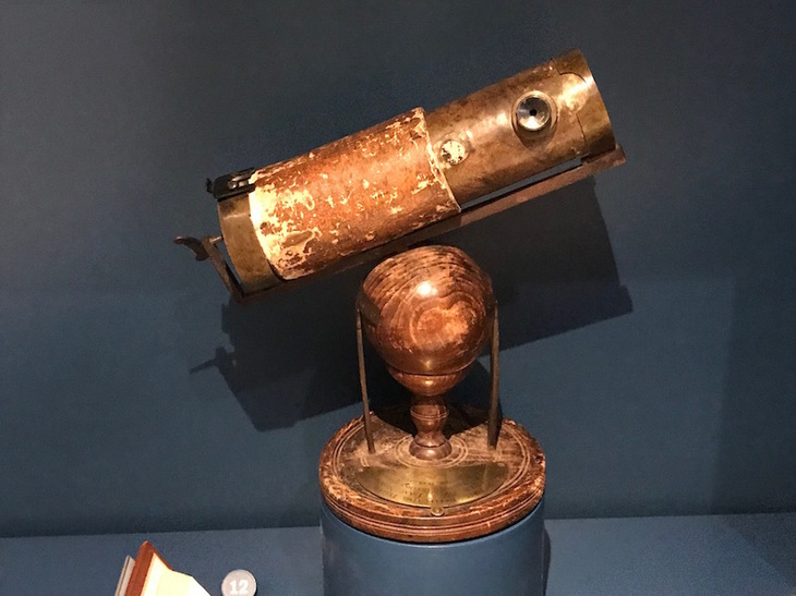 Newton's telescope at the Science Museum