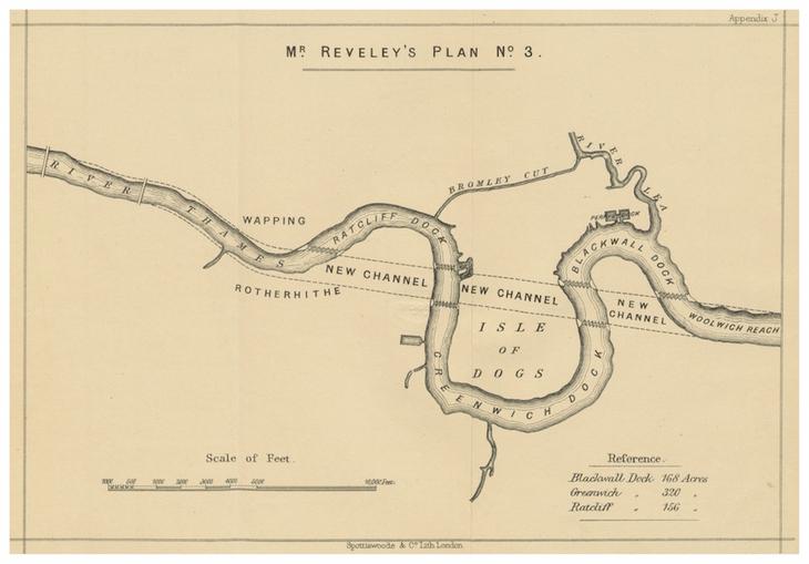 Reveley's plan for the Thames